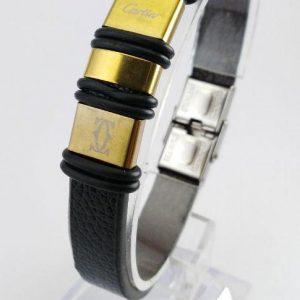 دستبند چرم مردانه ۴۰۰۷۱۵