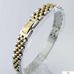 دستبند رولکسی مردانه ۴۰۱۸۱۰۰