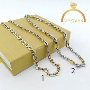 زنجیر مردانه استیل کد ۷۰۰3