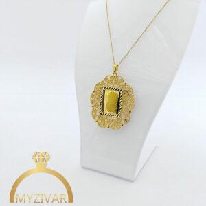 گردنبند شمایل طرح طلا کد ۷۰۰8