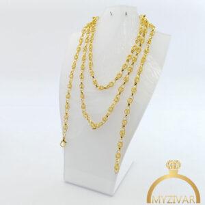 زنجیر گردنی استیل طرح طلا کد ۱۴۰۱3