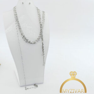 زنجیر گردنی استیل طرح طلا کد ۱۴۰۰8