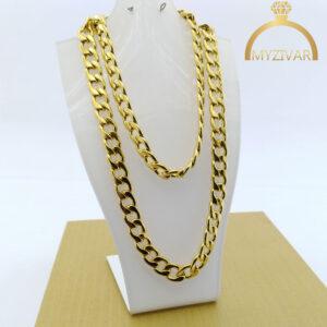 زنجیر گردنی کارتیر طرح طلا کد ۷۰۱8