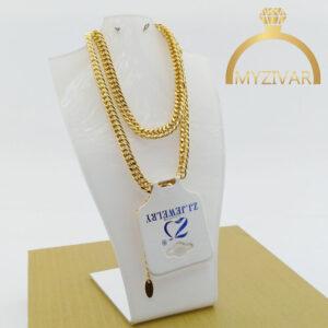 زنجیر گردنی کارتیر طرح طلا کد