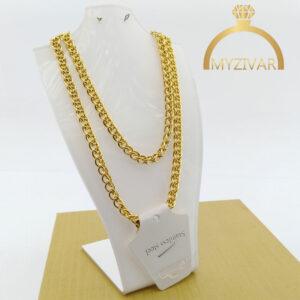 زنجیر گردنی طنابی طرح طلا مارک ZJ کد ۷۰۲1
