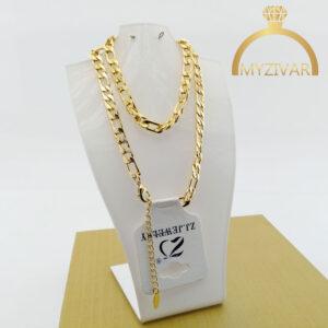 زنجیر گردنی طنابی طرح طلا مارک ZJ کد ۷۰۲2