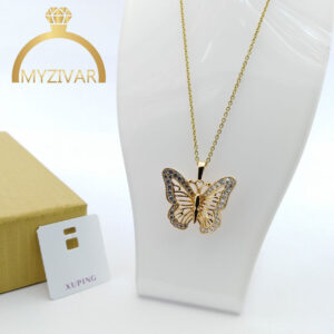 مدال پروانه طرح طلا مارک ژوپینگ کد ۷۰۴1
