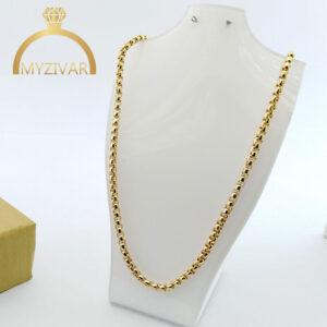 زنجیر گردنی مارک ZJ طرح طلا کد ۷۰۱6