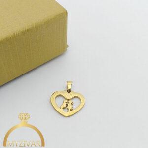 مدال استیل طرح طلا و رنگ ثابت کد ۷۰۴6