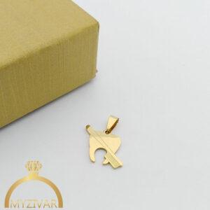 مدال استیل طرح طلا و رنگ ثابت کد ۷۰۵1