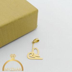 مدال استیل طرح طلا و رنگ ثابت کد ۷۰۵3