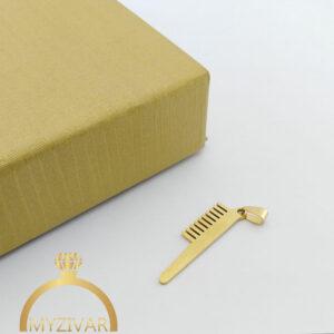 مدال استیل طرح طلا و رنگ ثابت کد ۷۰۴9
