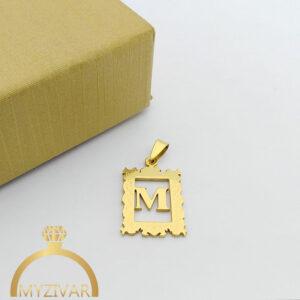 مدال استیل طرح طلا و رنگ ثابت کد ۷۰۵4