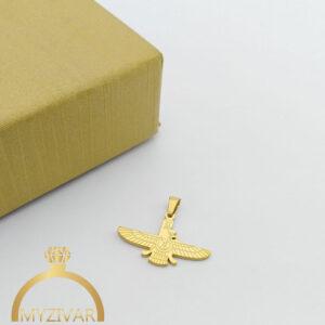 مدال استیل طرح طلا و رنگ ثابت کد ۷۰۵5