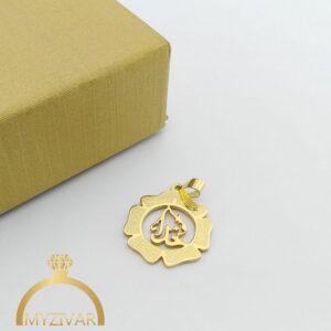 مدال استیل طرح طلا و رنگ ثابت کد ۷۰۵6