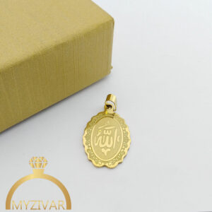 مدال استیل طرح طلا و رنگ ثابت کد ۷۰۵8