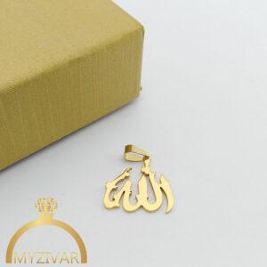 مدال استیل طرح طلا و رنگ ثابت کد ۷۰۵7