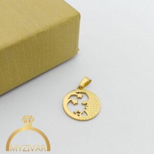 مدال استیل طرح طلا و رنگ ثابت کد ۷۰۵9