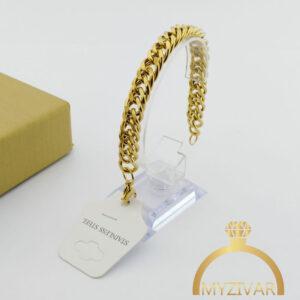 دستبند استیل کارتیر طرح طلا و اسپورت کد ۱۳۰۲7