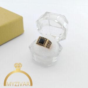 انگشتر طلاروس طرح طلا و رنگ ثابت ۲۰۴3