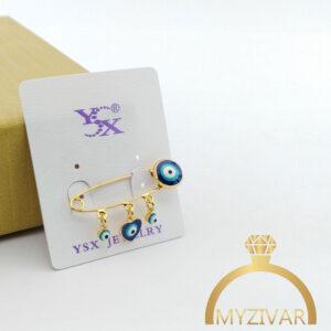 سنجاق سینه چشم نظر برند ysx کد ۵۰10