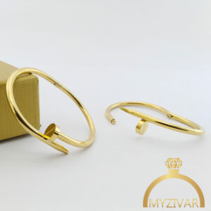 دستبند میخی اسپورت و طرح طلا کد ۱۳۰۳7
