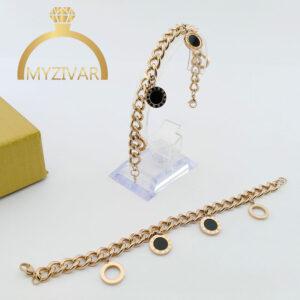 دستبند کارتیر بولگاری طرح طلا و اسپورت کد ۱۳۰۴1