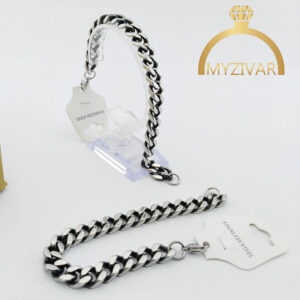 دستبند مردانه کارتیر طرح سیاه قلم کد ۱۳۰۳2