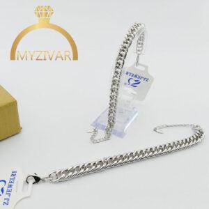 دستبند کارتیر طرح طلا و اسپورت مارک ZJ کد ۱۳۰30