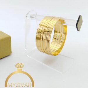 النگوی آیینه ای طرح طلا مارک YSX کد ۱۰۱4