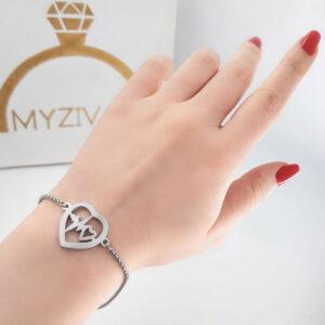 دستبند دخترانه شیک و ظریف کد 13044