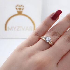 انگشتر زنانه رنگ ثابت مارک ژوپینگ کد 2054