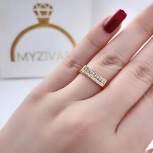 انگشتر زنانه رنگ ثابت مارک ژوپینگ کد 2053