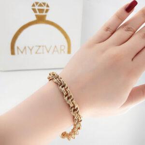 دستبند زنانه طرح طلا مارک ژوپینگ کد 13052