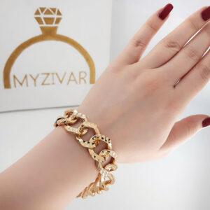 دستبند زنانه طرح طلا مارک ژوپینگ کد 13053