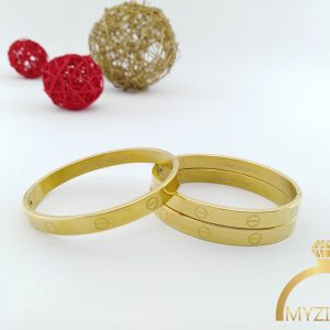دستبند کارتیر طرح طلا کد 13059