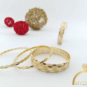 النگو طلاروس طرح طلا کد 1038