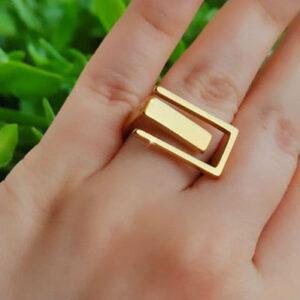 انگشتر دخترانه رنگ ثابت 1