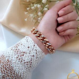 دستبند کارتیر طرح طلا