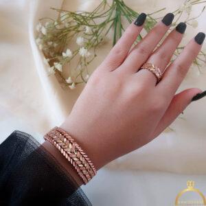 ست انگشتر و دستبند مس