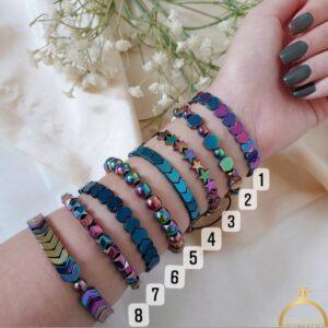 دستبند حدید رنگی